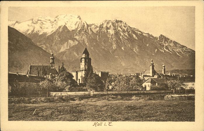 Hall Tirol  Kat. Hall in Tirol