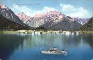 Pertisau Achensee Achensee Schiff  / Eben am Achensee /Tiroler Unterland