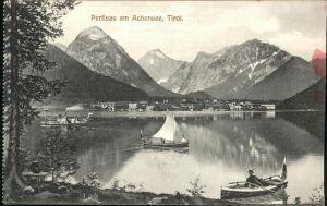Pertisau Achensee Achensee Boot / Eben am Achensee /Tiroler Unterland