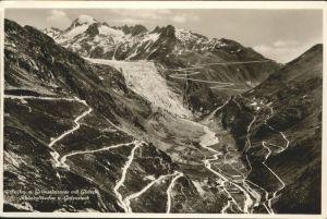 Furka Grimselstrasse Gletsch