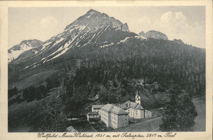 Hall Tirol Maria Waldrast  / Hall in Tirol /Innsbruck