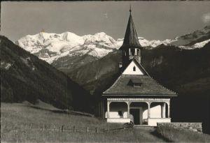Kiental Kapelle Bluemlisalpgruppe / Kiental /Bz. Frutigen