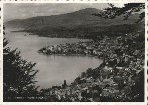 Territet Territet Montreux x / Territet /Bz. Vevey