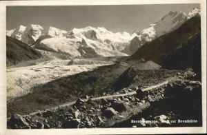 Bernina Bernina Gruppe Bovalhuette * / Bernina /Rg. Pontresina