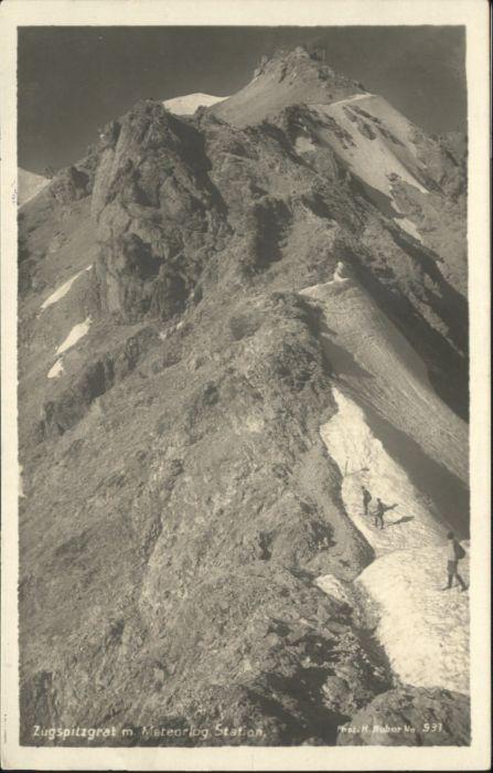 Zugspitze Zugspitze Grat Metorologische Station * / Garmisch-Partenkirchen /Garmisch-Partenkirchen LKR