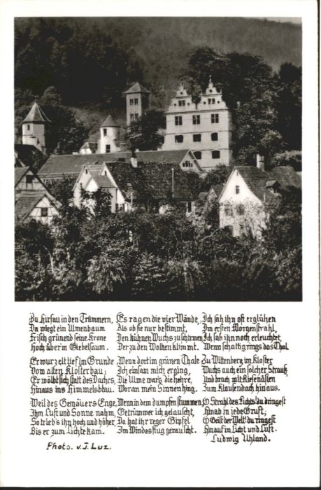 Luetzenhardter Hof Hirsau Hirsau-Luetzenhardter Hof Gedicht * / Calw /Calw LKR