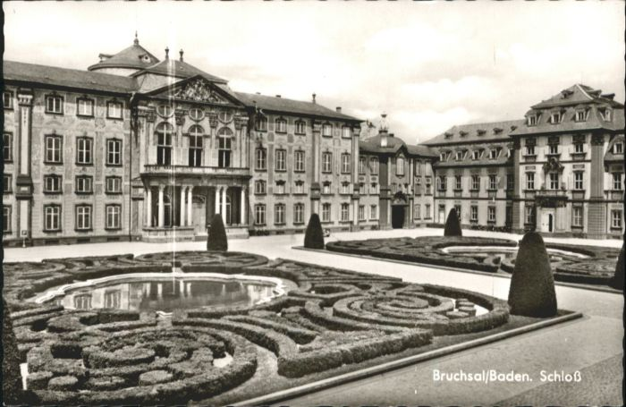 Bruchsal Bruchsal Schloss * / Bruchsal /Karlsruhe LKR