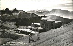 Rochers de Naye Glacier du Trient  Kat. Rochers de Naye