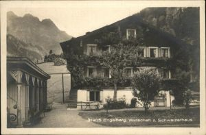 Engelberg OW Wirtschaft Schweizerhaus