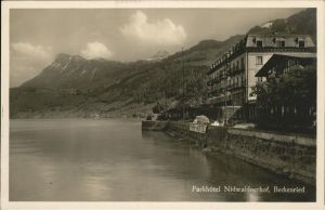 Beckenried Park Hotel Nidwaldnerhof Kat. Beckenried