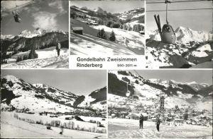 Zweisimmen Gondelbahn Ski Kat. Zweisimmen