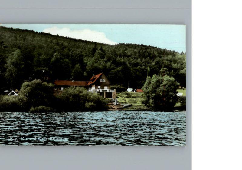 Edersee D.K.V. Kanustation / Edertal /Waldeck-Frankenberg LKR 0