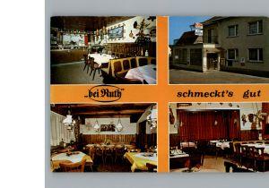 Gross-Umstadt Gasthof Bei Ruth / Gross-Umstadt /Darmstadt-Dieburg LKR
