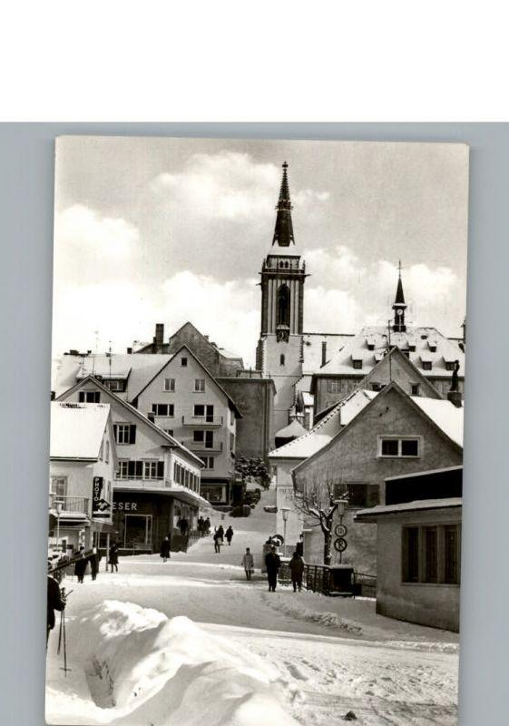 Titisee-Neustadt Winter-Karte / Titisee-Neustadt /Breisgau-Hochschwarzwald LKR