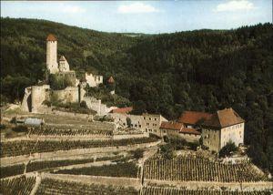 Neckarzimmern Burg Hornberg Neckar Burg Ritters Goetz von Berlichingen Kat. Neckarzimmern