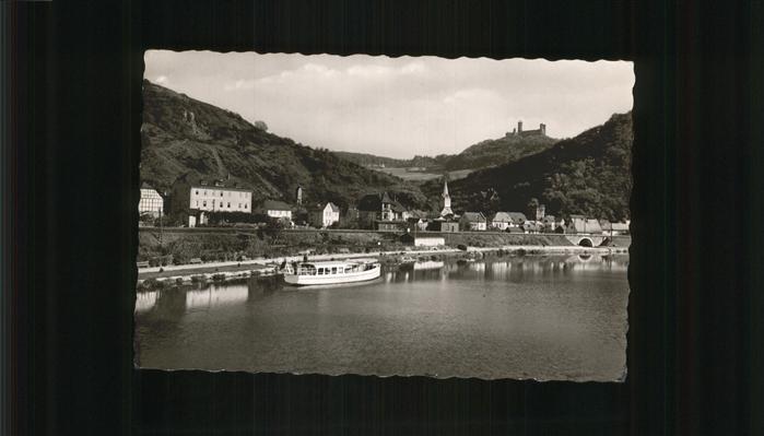 Balduinstein Lahn Schloss Schaumburg Kat. Balduinstein
