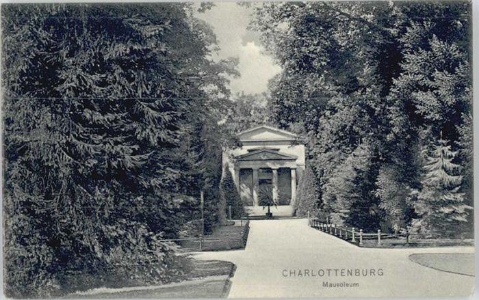 Charlottenburg Charlottenburg Mausoleum * / Berlin /Berlin Stadtkreis