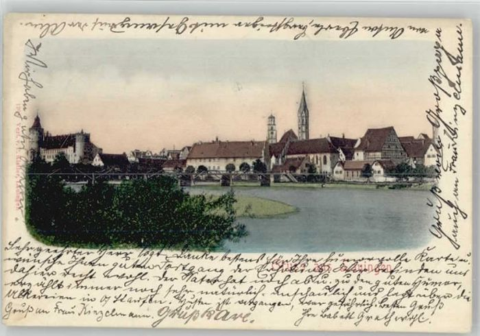 Lauingen Donau Lauingen  x / Lauingen (Donau) /Dillingen Donau LKR
