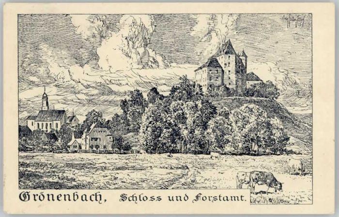 Bad Groenenbach Schloss Forstamt x