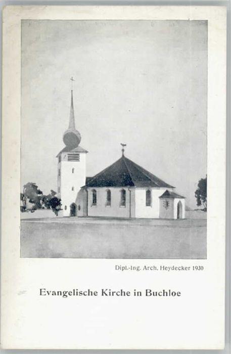 Buchloe evangelische Kirche o 1921-1965