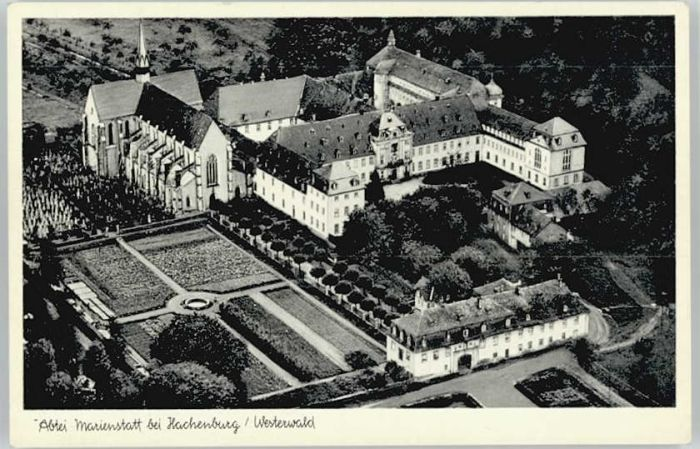 Hachenburg Marienstatt Abtei Nr We27172 Oldthing
