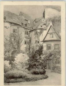 Runkel Lahn Runkel Kuenstlerkarte Burg Runkel * / Runkel /Limburg-Weilburg LKR