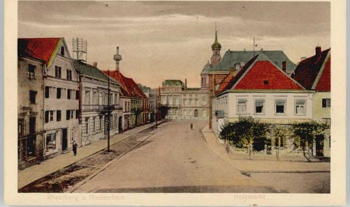 Rheinberg Holzmarkt *