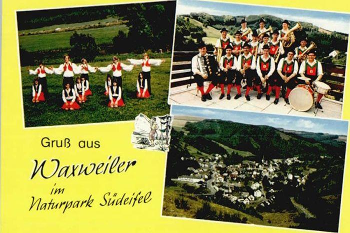 Waxweiler Waxweiler Trachtenkapelle Lyra * / Waxweiler /Eifelkreis Bitburg-Pruem LKR