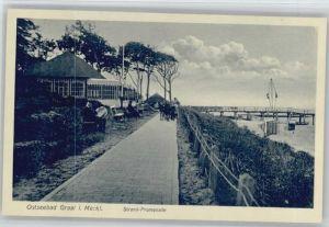 Graal-Mueritz Ostseebad Graal Strandpromenade * / Seeheilbad Graal-Mueritz /Bad Doberan LKR