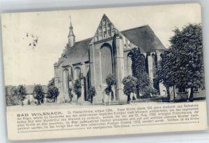 Bad Wilsnack Bad Wilsnack St Nikolai Kirche x / Bad Wilsnack /Prignitz LKR