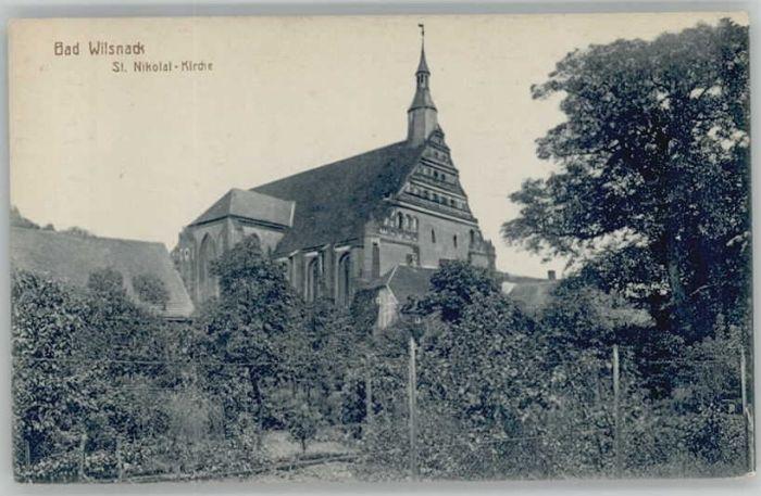 Bad Wilsnack Bad Wilsnack St Nikolai Kirche * / Bad Wilsnack /Prignitz LKR