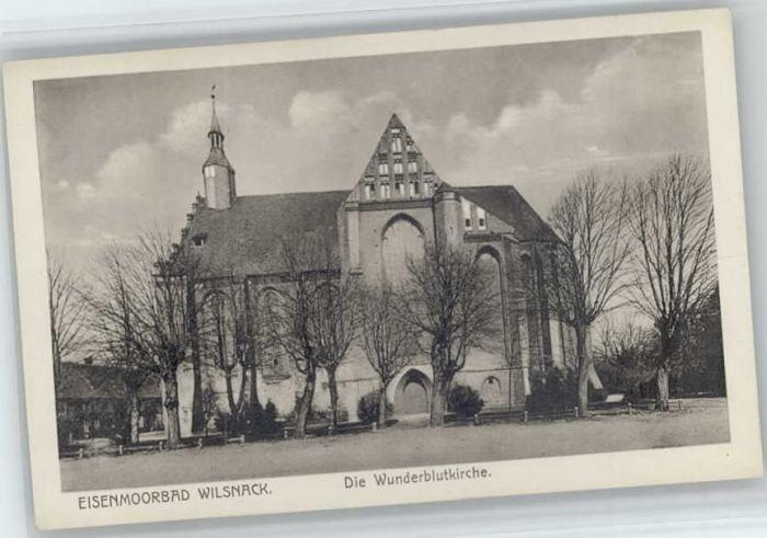 Bad Wilsnack Bad Wilsnack Wunderblutkirche * / Bad Wilsnack /Prignitz LKR