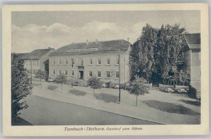 Tambach-Dietharz Tambach-Dietharz Gasthof zum Baeren * / Tambach-Dietharz /Gotha LKR
