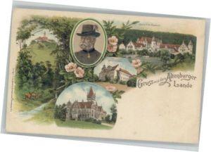 Altenburg Thueringen Schloss Froehliche Wiederkunft Schloss Hummelshain Schloss Eisenberg Herzog Ernst von Sachsen-Altenburg Leuchtenburg *