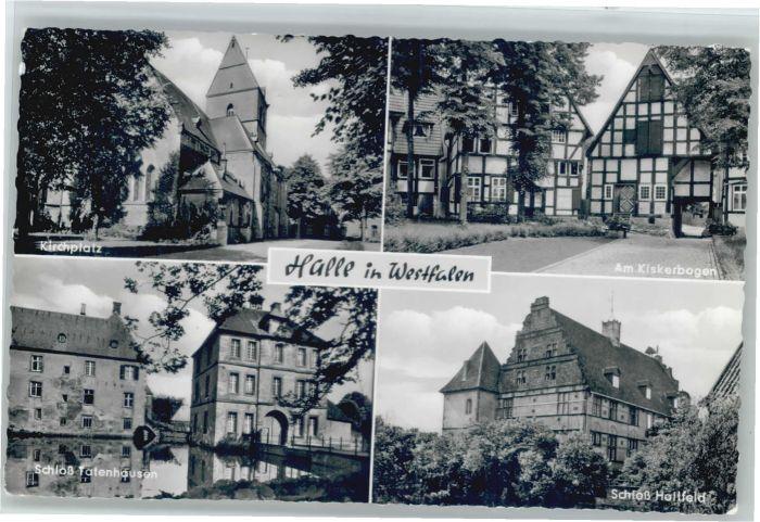 Halle Westfalen Kirchplatz Kiskerbogen Schloss Tatenhausen Schloss Holtfeld x