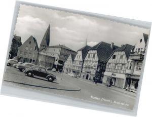 Kamen Westfalen Kamen Marktplatz * / Kamen /Unna LKR