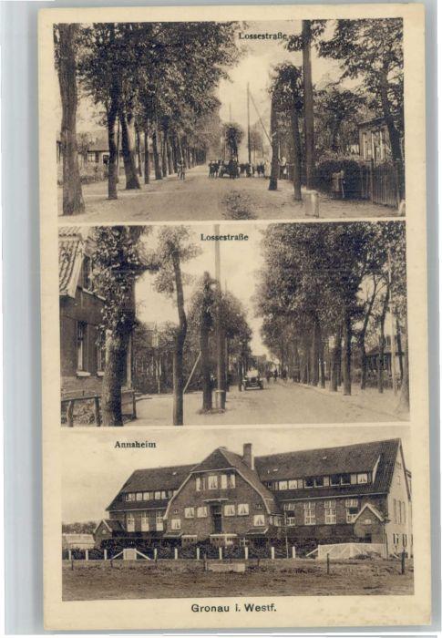 Gronau Westfalen Gronau Annaheim Lossestrasse * / Gronau (Westf.) /Borken LKR