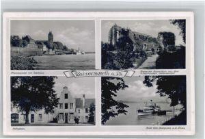 Kaiserswerth Zollhaus Stiftsplatz Dampfer Ruine x