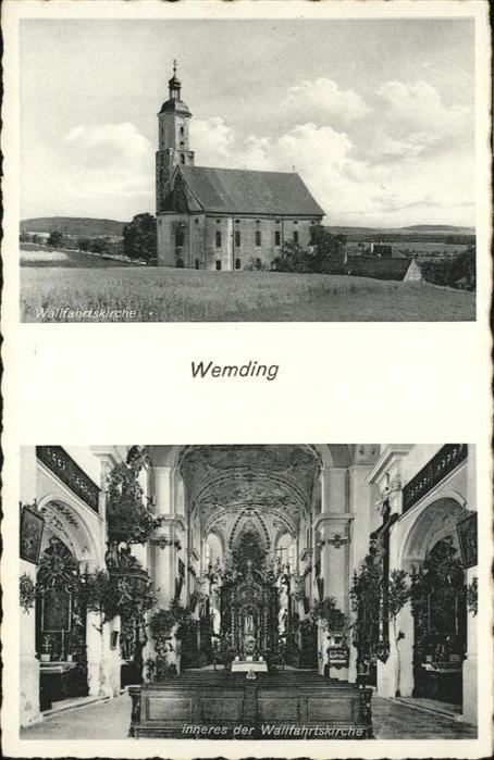 Wemding Wallfahrtskirche / Wemding /Donau-Ries LKR