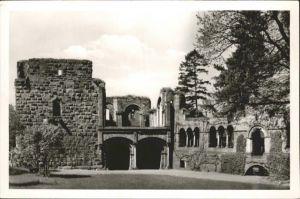 Gelnhausen Barbarossa Burg / Gelnhausen /Main-Kinzig-Kreis LKR