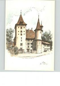 Bern BE Schloss Nidau / Bern /Bz. Bern City