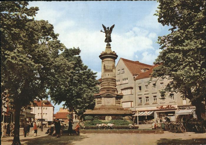 Siegburg Kriegerdenkmal Markt / Siegburg /Rhein-Sieg-Kreis LKR
