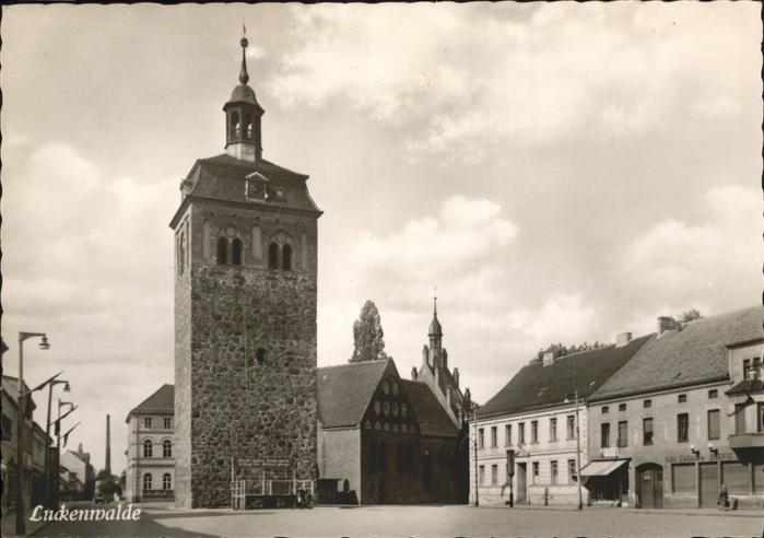 Luckenwalde Platz der Jugend / Luckenwalde /Teltow-Flaeming LKR