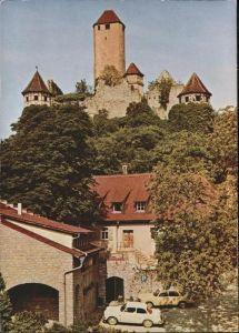 Neckarzimmern Burg Hornberg Neckar / Neckarzimmern /Neckar-Odenwald-Kreis LKR
