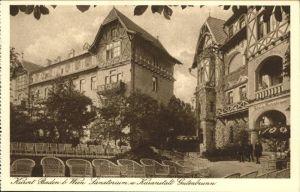 Baden Wien Sanatorium Gutenbrunn / Baden /Wiener Sueden