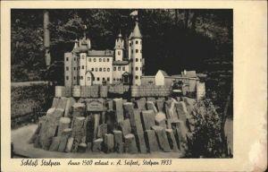 Stolpen Schloss Stolpen / Stolpen /Saechsische Schweiz-Osterzgebirge LKR