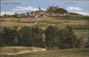 Stolpen Schlos Stolpen / Stolpen /Saechsische Schweiz-Osterzgebirge LKR