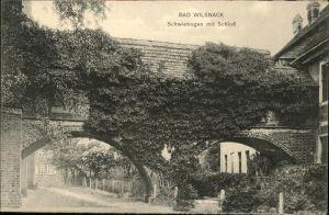 Bad Wilsnack Schwiebogen Schloss  / Bad Wilsnack /Prignitz LKR