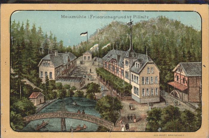 Pillnitz Friedrichsgrund Meixmuehle *