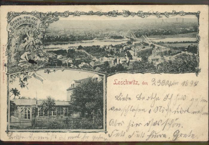 Loschwitz Loschwitz Beerenschaenke x / Dresden /Dresden Stadtkreis